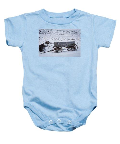 Antique Wagon Baby Onesie