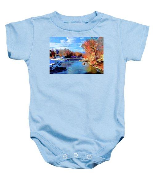 Arkansas River In Salida Co Baby Onesie