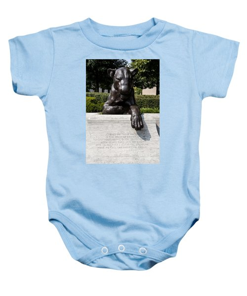At The National Law Enforcement Officers Memorial In Washington Dc Baby Onesie