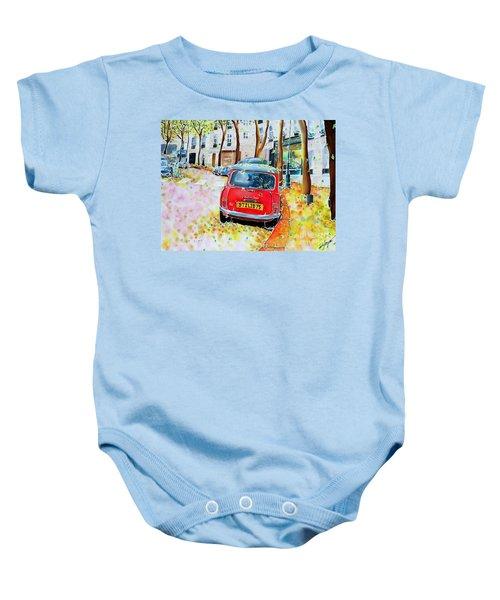 Avenue Junot In Autumn Baby Onesie