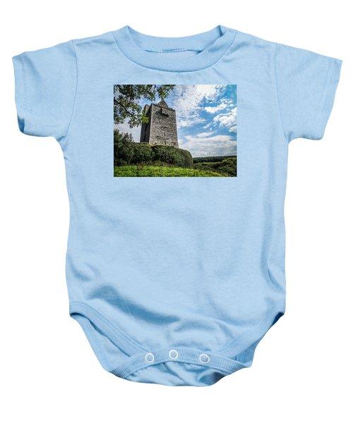 Ballinalacken Castle In Ireland's County Clare Baby Onesie