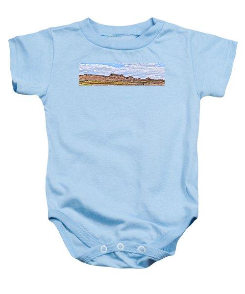 Bardenas Desert Panorama 1 Baby Onesie