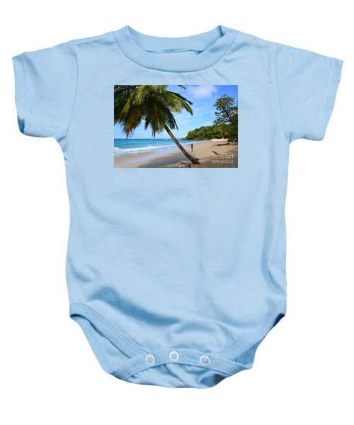 Beach In Dominican Republic Baby Onesie