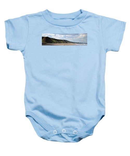 Beach - Saltburn Hills - Uk Baby Onesie