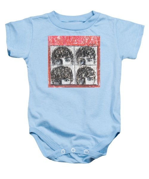 Beatles Hard Day's Night Baby Onesie