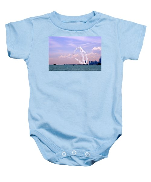 Beauty In The Air Baby Onesie