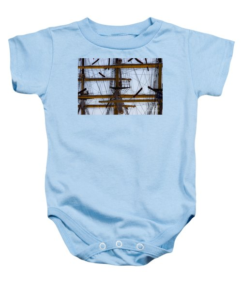 Between Masts And Ropes Baby Onesie