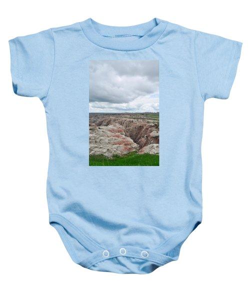 Big Badlands Overlook Baby Onesie