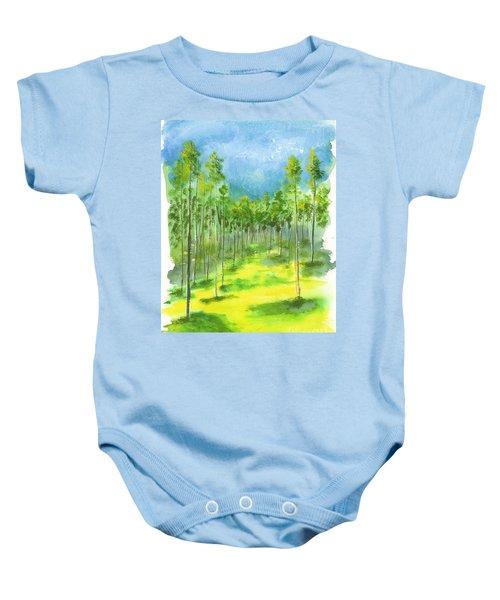 Birch Glen Baby Onesie