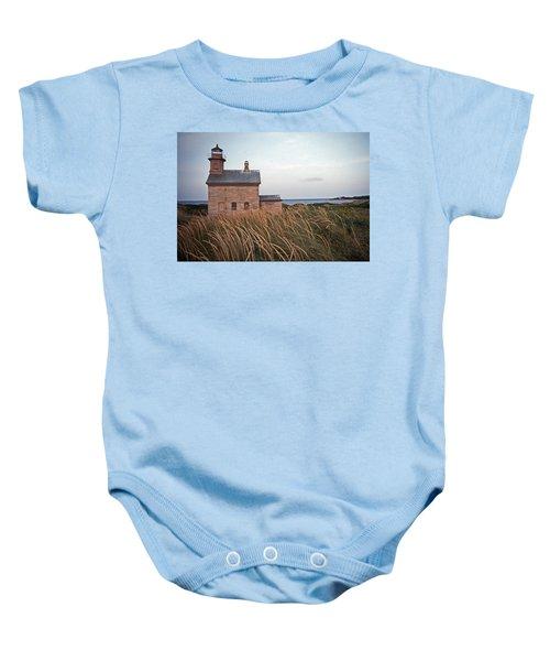 Block Island North West Lighthouse Baby Onesie