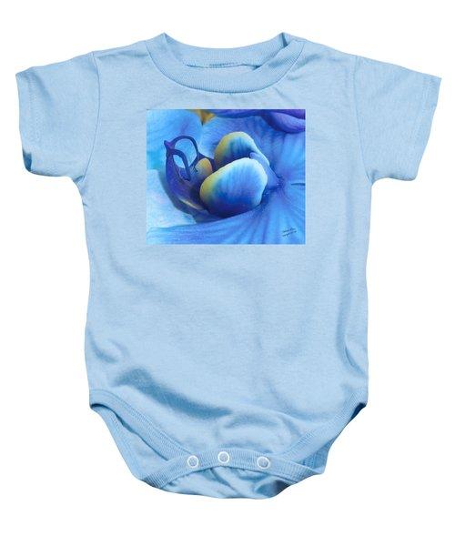 Blue Oasis Baby Onesie