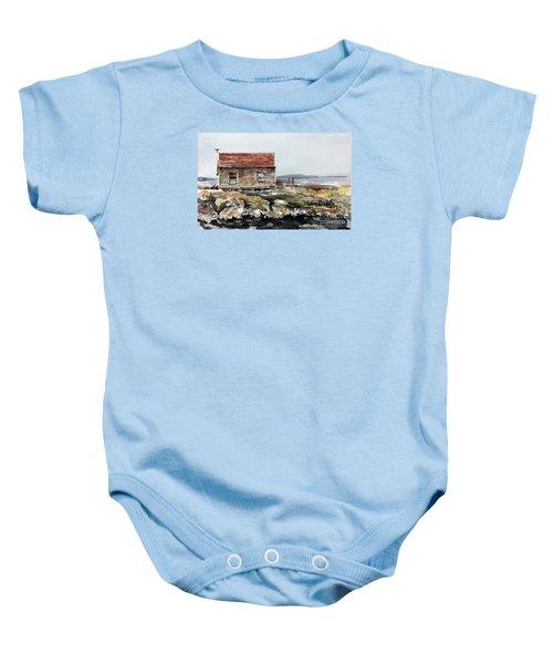 Blue Rocks Nova Scotia Baby Onesie
