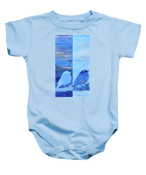 Bluebirds Baby Onesie