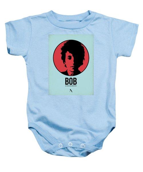Bob Poster 2 Baby Onesie by Naxart Studio