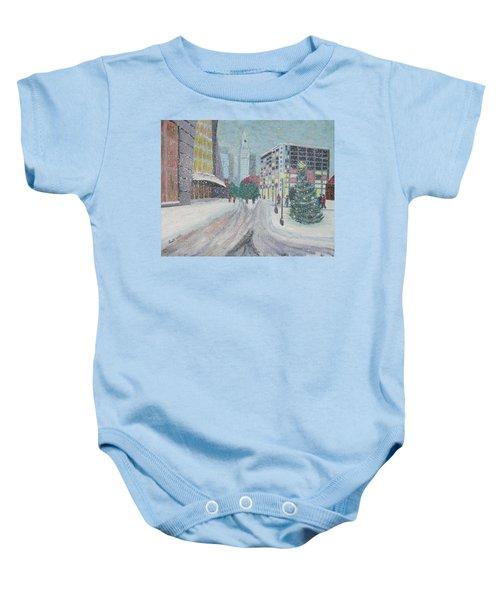 Boston First Snow Baby Onesie