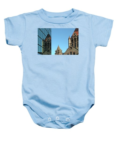 Boston Unity Reflected 2853 Baby Onesie