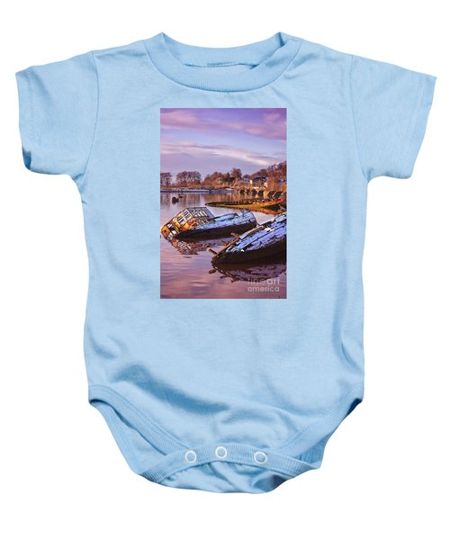 Bowling Harbour 03 Baby Onesie