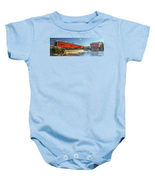 Bridgeton Bridge And Mill Baby Onesie
