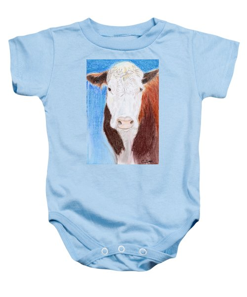 Brown-eyed Girl Baby Onesie