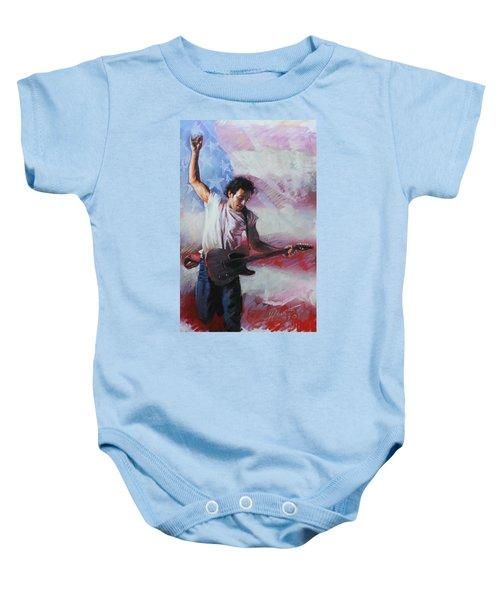 Bruce Springsteen The Boss Baby Onesie