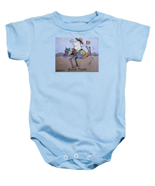 Buck Tooth Baby Onesie
