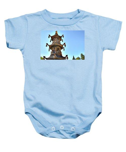 Buddhist Bells Baby Onesie