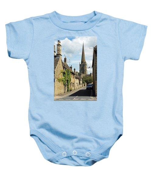 Burford Village Street Baby Onesie