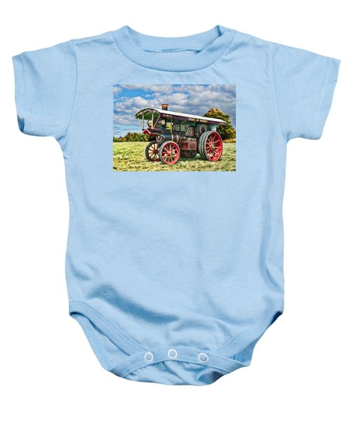 Burrell Showmans Engine Baby Onesie