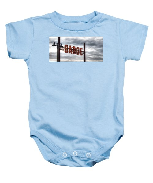 by The Barge Baby Onesie