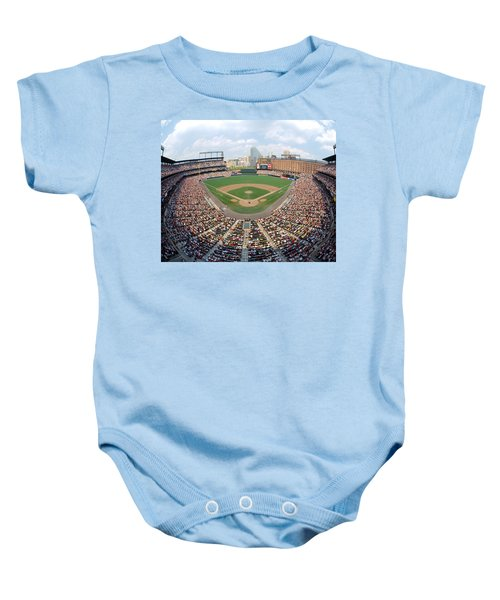 Camden Yards Baltimore Md Baby Onesie by Panoramic Images