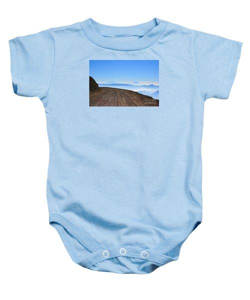 Camino En Volcan Nevado De Toluca Baby Onesie
