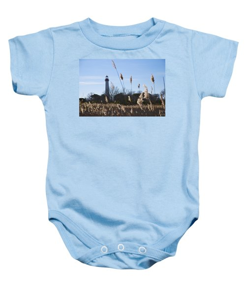Baby Onesie featuring the photograph Cape May Light by Jennifer Ancker