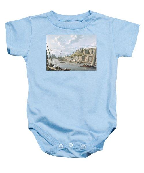 Castle In The Island Of Tortosa, 1805 Baby Onesie