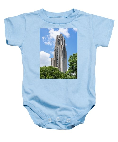 Cathedral Of Learning - Pittsburgh Pa Baby Onesie