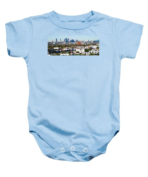 Century City, Beverly Hills, Wilshire Baby Onesie by Panoramic Images