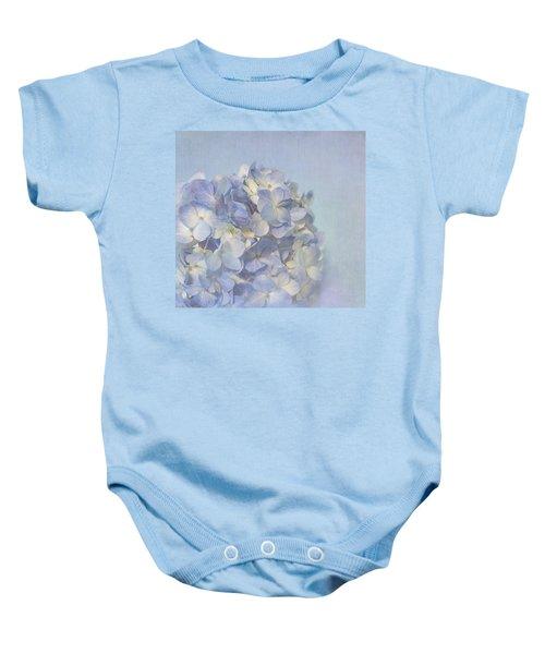 Charming Blue Baby Onesie