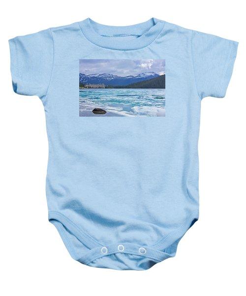 Chateau Lake Louise #2 Baby Onesie
