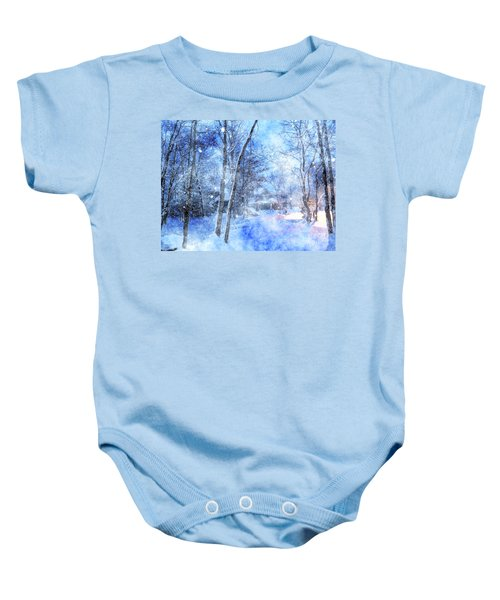 Christmas Wishes Baby Onesie
