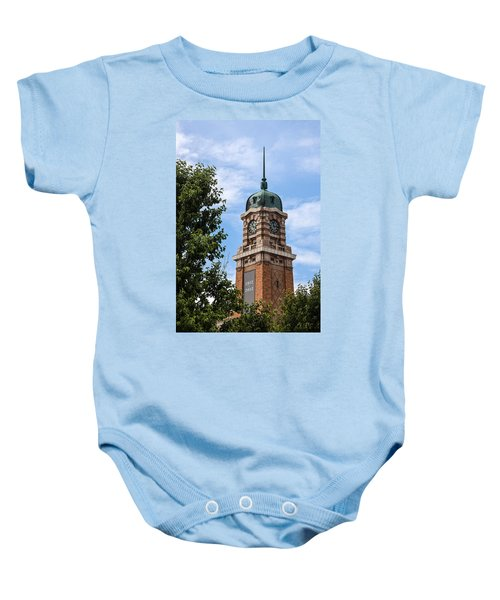Cleveland West Side Market Tower Baby Onesie