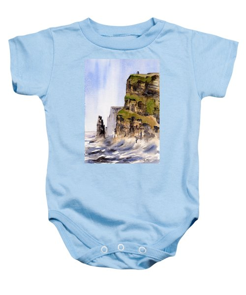 Clare   The Cliffs Of Moher   Baby Onesie