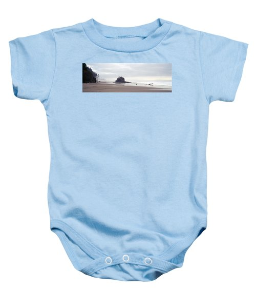 Coast La Push Olympic National Park Wa Baby Onesie by Panoramic Images