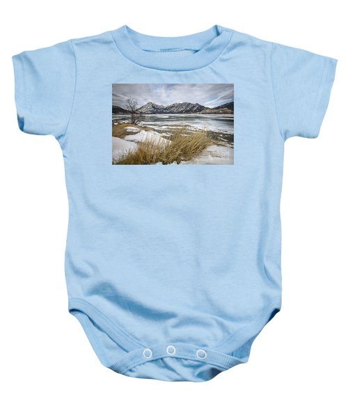 Cold Landscapes Baby Onesie