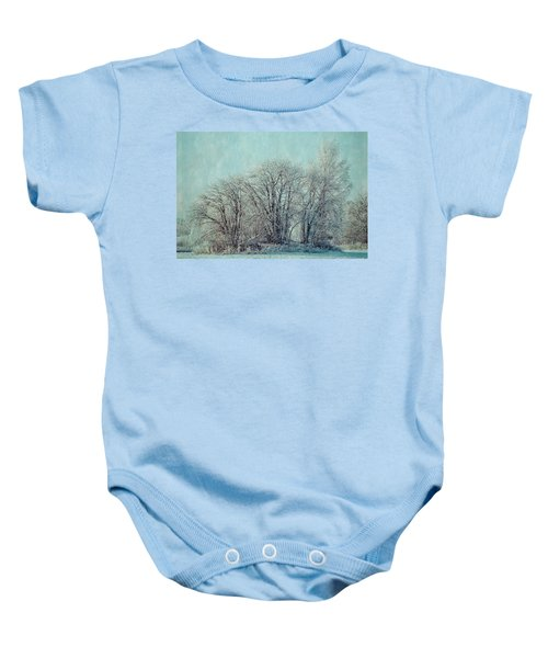 Cold Winter Day Baby Onesie