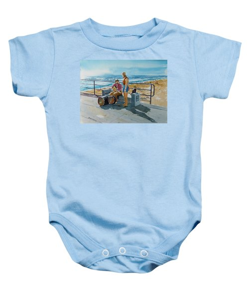 Concert In The Sun To An Audience Of One Baby Onesie