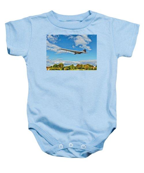Concorde On Finals Baby Onesie