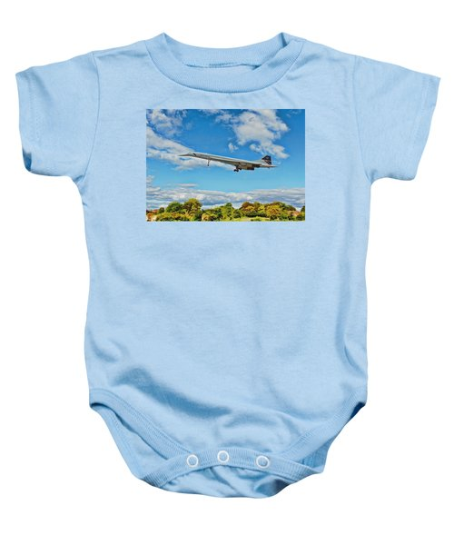 Concorde On Finals Baby Onesie