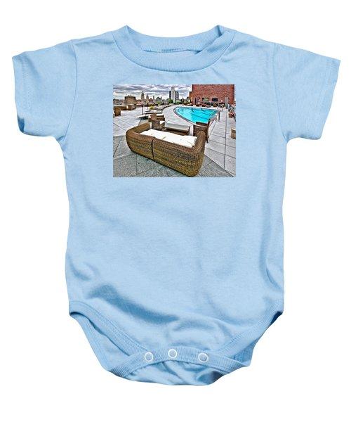 Cooper Roof Baby Onesie