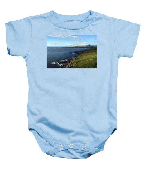 County Clare Coast Baby Onesie