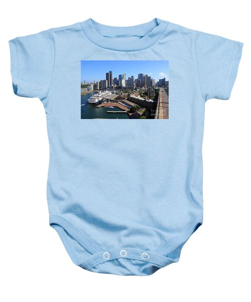 Cruiser Ship In Sydney Baby Onesie