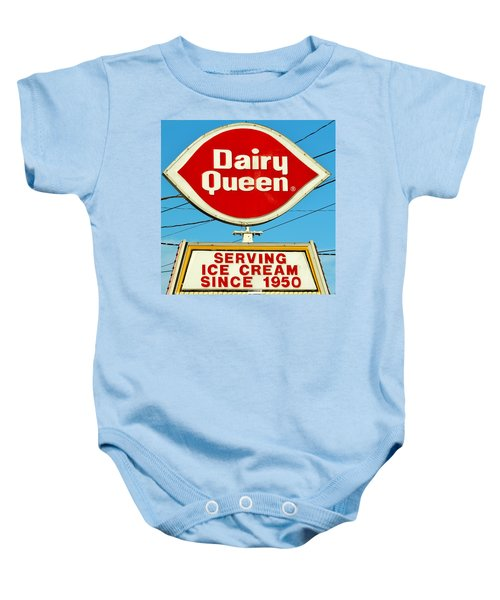 Dairy Queen Sign Baby Onesie